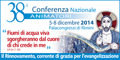 38a Conferenza Nazionale Animatori - Depliant e materiali