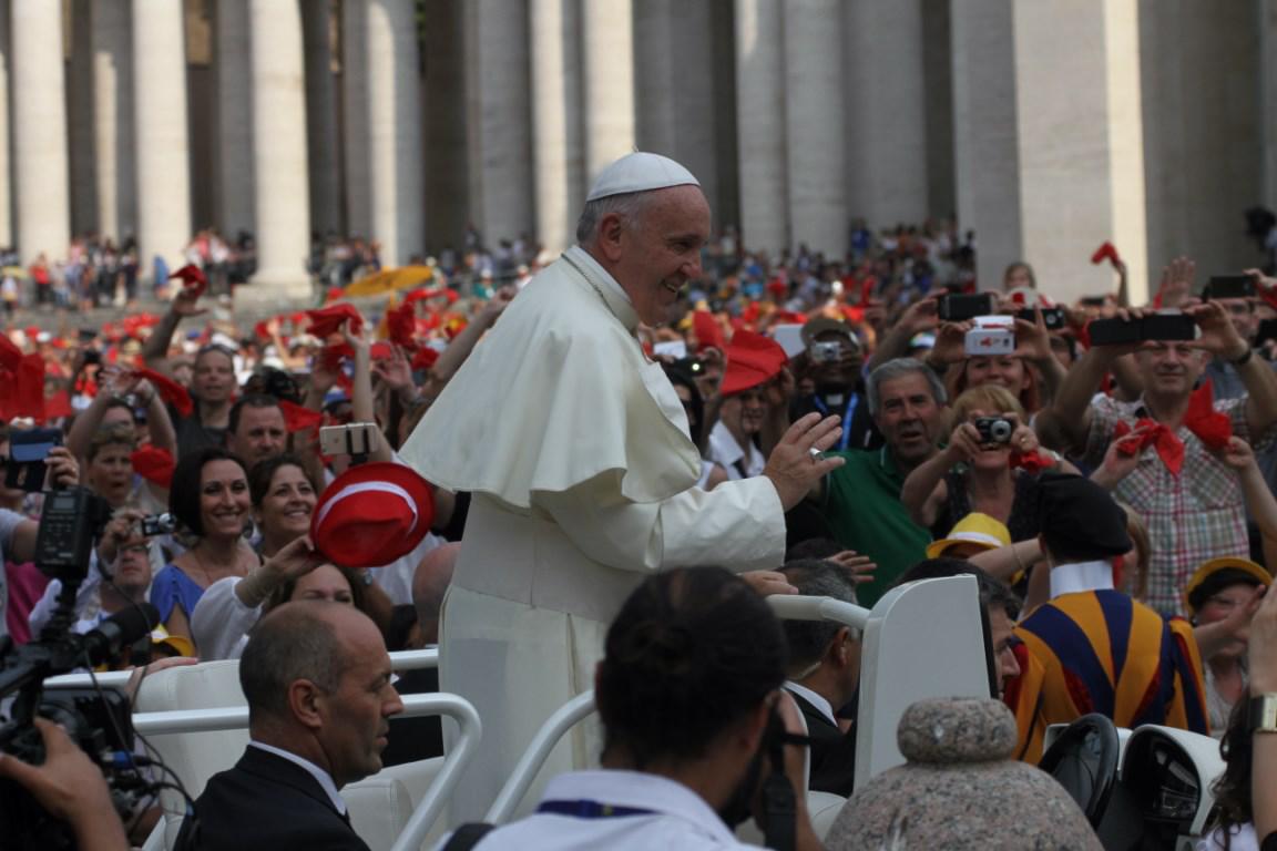 Papa Francesco - 38a Convocazione Nazionale RnS - Clicca per ingrandire...