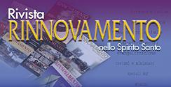 Campagna abbonamenti Rivista Rinnovamento nello Spirito Santo